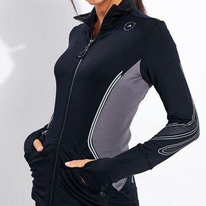 NWT Adidas Stella McCartney Black TruePace Jacket